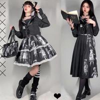 アンティークドールセーラー服+スカーフ付き!(2種類)