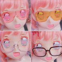 ドールマスク用BIGメガネ【1】