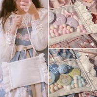 アンティークフリルピロー痛bag【2色】