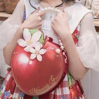 【お取り寄せ】白雪姫の林檎バッグ【大】
