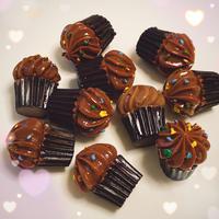 チョコレートカップケーキ8個