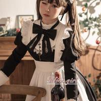 【ご予約】【Alicegirl】クラシカルメイドOP+エプロンセット