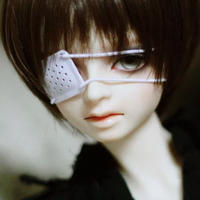 ドール用ミニチュア眼帯