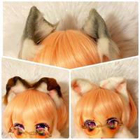 ドール用ミニチュア猫耳【3種類】