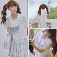 Disney公認シンデレラセーラー服  上着半袖【M】