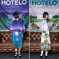 【HOTELO】昼夜薔薇園ゆったりチャイナワンピース