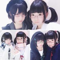 【2本買うと3本目無料!】リモコン☆二次元メガネ【しかく】B品