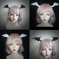 悪魔と天使のフェルト羽根ピン