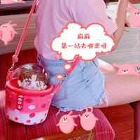 【お取り寄せ】タピオカ痛ポシェット(苺味)