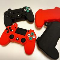 ゲームコントローラパーツ【2色】4個
