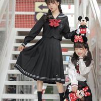 【お取り寄せ】ディズニー公認☆ミッキーミニーセーラー服スカート【2種類】