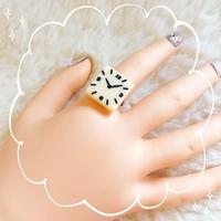 ヴィンテージパーツ時計の指輪
