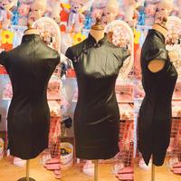 ブラックチャイナドレス