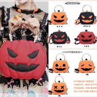 【ご予約11月発売予定】ハロウィンかぼちゃバッグ金具付き♪