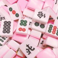 【大&小】桃色麻雀牌セット