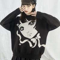 少女漫画セーター