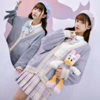 【お取り寄せ】Disney公認☆ドナルド&デイジー☆カーディガン
