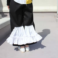 《Akihide Nakachi》back frill pants