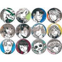 「ヤマザキコレ描き下ろしトレーディング缶バッジ ランダム3種類1セット」「Trading can badge drawn by Kore Yamazaki Random 3 types 1 set」