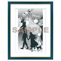 「ヤマザキコレ描き下ろし 複製イラストB4サイズ」「Duplicate illustration drawn by Kore Yamazaki B4 size」