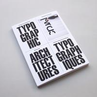 Wim Crouwel / Typographic Architectures