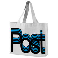 Post-Post totebag designed by Experimental Jetset / Blue