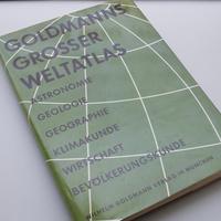 【古書】Herbert Bayer / Goldmanns Grosser Weltatlas