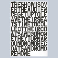 Christopher Wool & Felix Gonzalez-Torres / Untitled (Poster)