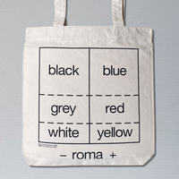 Roma Tote Bag (Experimental Jetset 2020 after Van Doesburg 1925)
