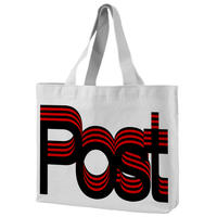 Post-Post totebag designed by Experimental Jetset / Red