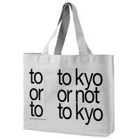 "Experimental Jetset Tote Bag + 1 Pencil ""Tokyo or not Tokyo? """