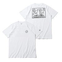 NEW ERA x Keith Haring Short Sleeve Dancing Wolf / Dj Dog