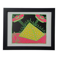 Pyramid Framed Poster  額装ポスター  ピラミッド  (サイズ 20.3×25.5cm)