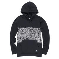 ELEMENT Keith Haring Panel Hoodie Black