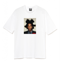 BASQUIAT BIGGER THAN YOUR ART T- shirt White