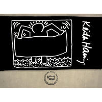 Keith Haring Bath Towel