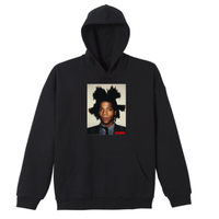 BASQUIAT BIGGER THAN YOUR ART Hoodie Black