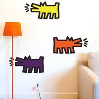 BLIK  Keith Haring  Barking Dog アソートWall  Sticker