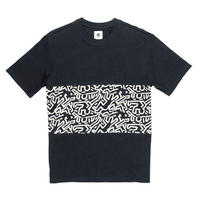 ELEMENT Keith Haring Big Panel T-shirts Black