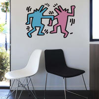 BLIK  Keith Haring  Dancing Dog Wall Sticker