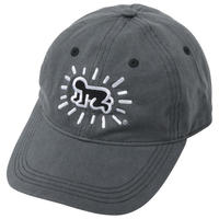 POP SHOP Keith Haring Baseball Cap (Baby) Gray