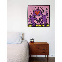 BLIK  Keith Haring  Love Heads Wall Sticker