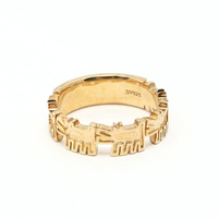 Dogs Ring Gold