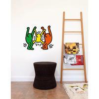 BLIK  Keith Haring  Familly Wall Sticker
