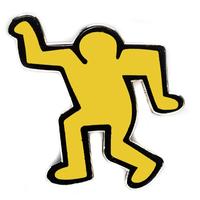 PINTRILL Dancing Man Pin