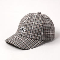 CA4LA X Keith Haring CHECK CAP01 CKH00040 BROWN