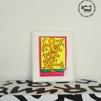 No.50 Framed Poster Montereux Keith Haring 1983 Size:M