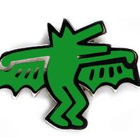 PINTRILL Bat Dog Pin
