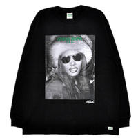 GUESS GREEN LABEL Grace Jones Long Sleeve Tee (Black)