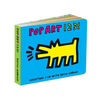 Mudpuppy POP ART 123!  Board Book